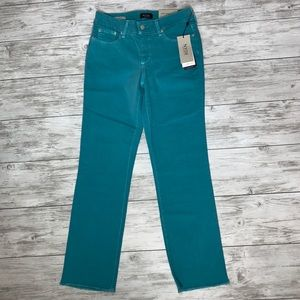 NYDJ Water Color Sheri Slim Ankle Jeans Size 4 NWT